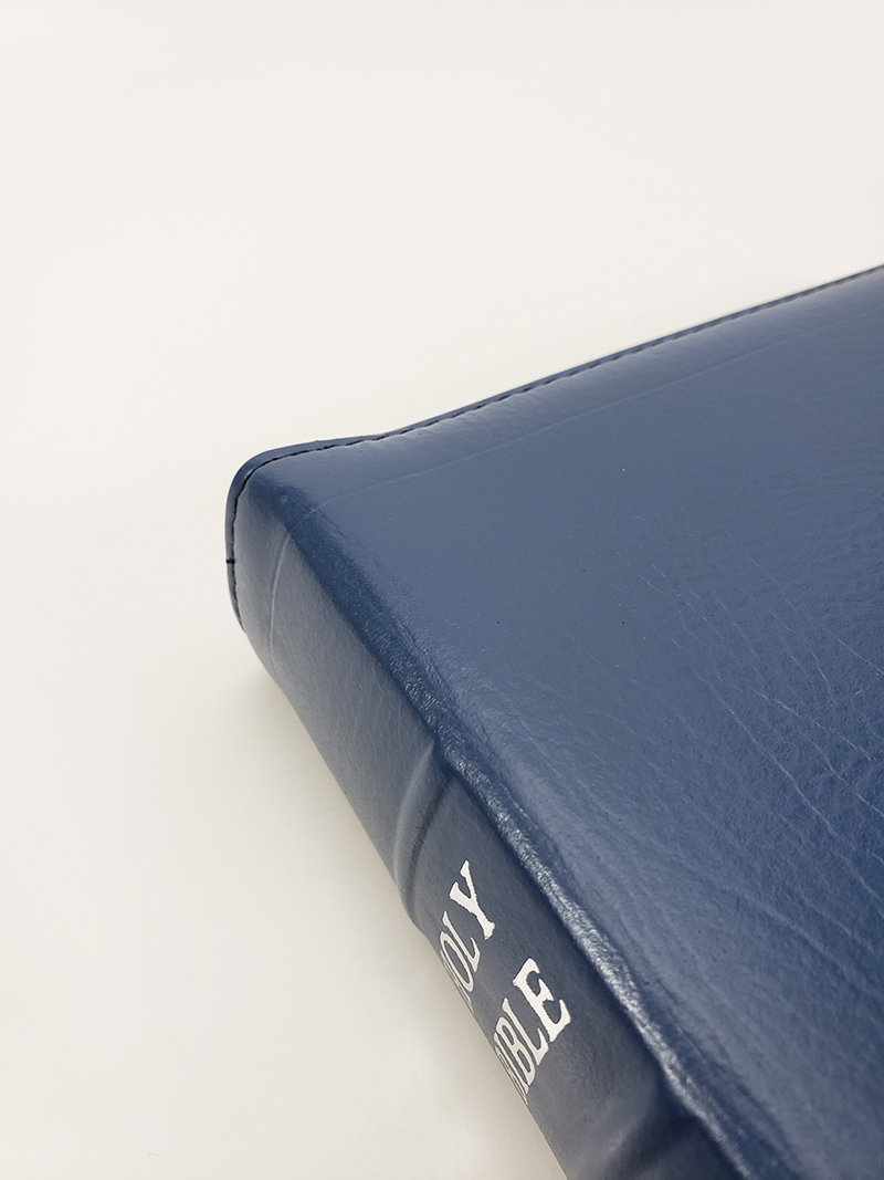 Handsize Black Letter Turquoise Reference Bible Corporate Series Blue Church Bible Publishers
